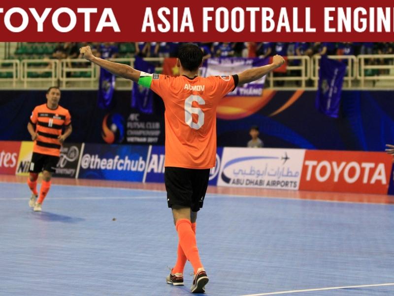 Kejuaraan Futsal Antarklub AFC 2017: Tuan Rumah Ditundukkan Wakil Kyrgyzstan