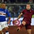 Palombo e Nainggolan a duello in Sampdoria-Roma