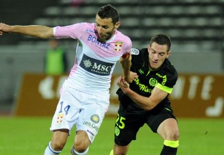 Résumé de match, Evian-Nantes (0-2)