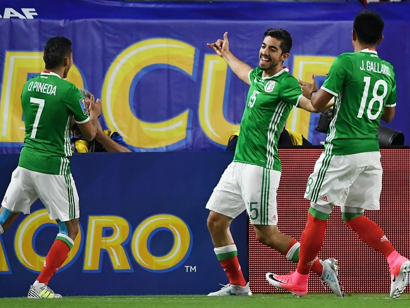 Mexico's one goal enough to beat woeful Honduras to semifinal spot