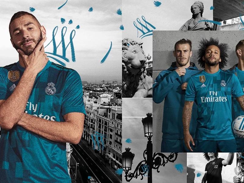 Le Real Madrid présente son troisième maillot