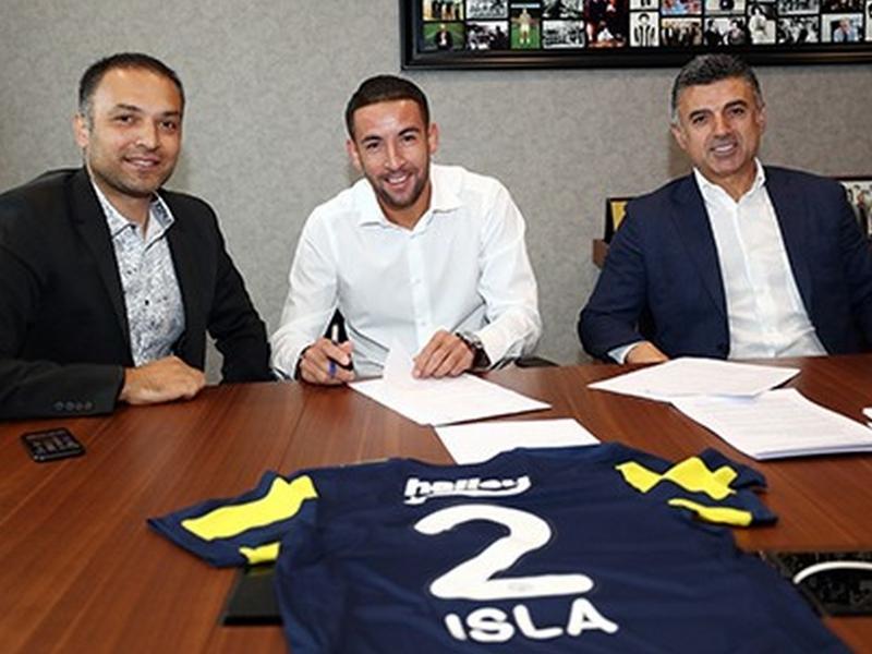 Fenerbahçe recrute Isla