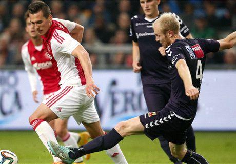 Slordig Ajax na rust langs Go Ahead