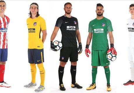 Atletico Perkenalkan Jersey Baru 2017/18
