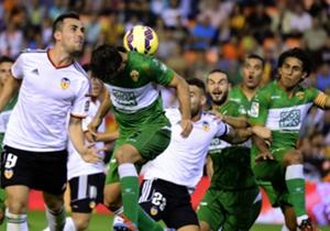 Valencia 3-1 Elche | Mestalla | Liga BBVA
