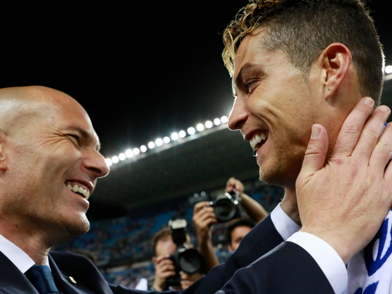 I have never denied Ronaldo reports - Zidane