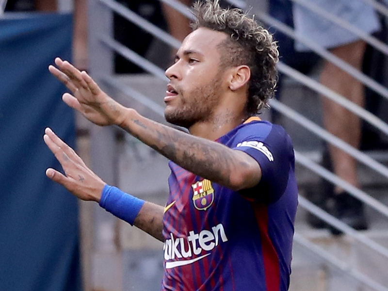 Juventus 1 Barcelona 2: Neymar shines with superb brace