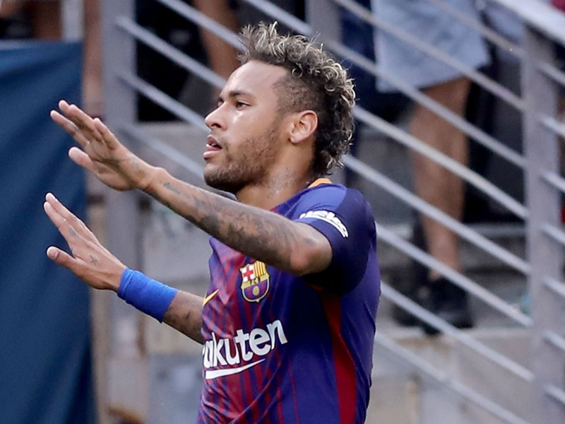 Neymar hits high notes in potential Barcelona swan song