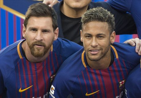 'Neymar is on Messi's level' - Chiellini