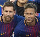 'Neymar is on Messi's level' - Chiellini