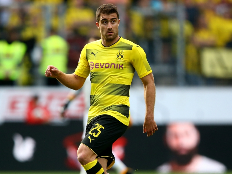 Dortmund rule out selling Sokratis to Juventus