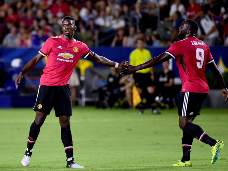 Pogba pleased to see 'long work' pay off after helping Man Utd to land Lukaku