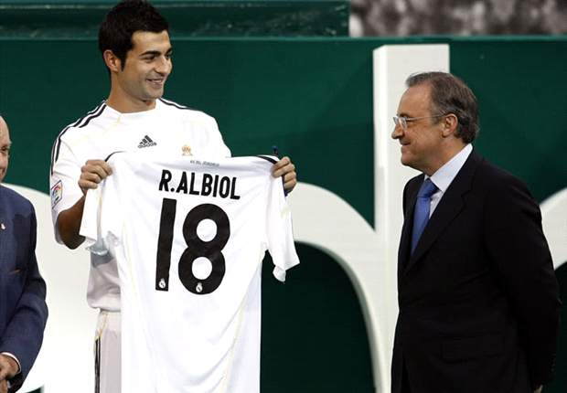 De La Red Will Get His Number Back When He Returns - Real Madrid's Albiol