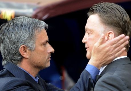 Van Gaal prijst 'betere' Mourinho