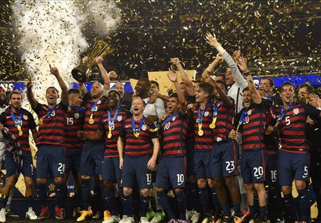 Amerika Serikat Juara Piala Emas 2017