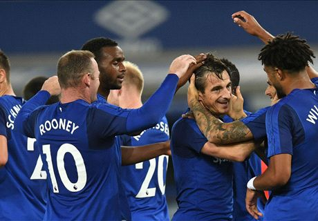 Everton earn win on European stage