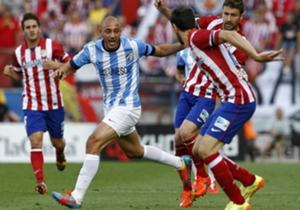 Atlético de Madrid, en riesgo de sorpresa ante Málaga