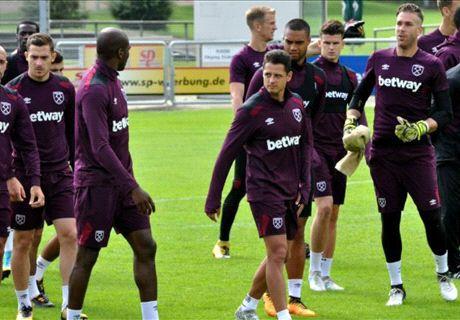 Ya entrena con el West Ham