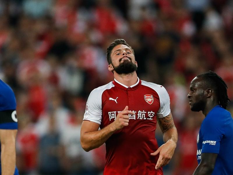 Giroud confirme qu'il va rester à Arsenal