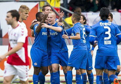 PSV met speels gemak voorbij Utrecht