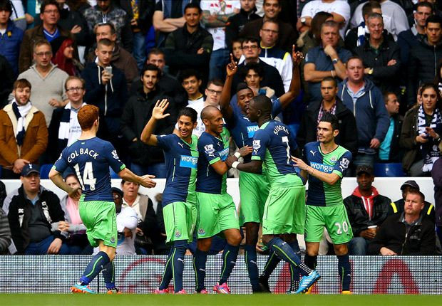 Tottenham 1-2 Newcastle: Spurs sunk by Ameobi & Perez