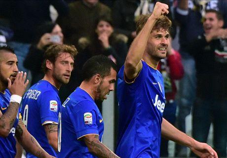 Résumé de match, Juventus-Palerme (2-0)