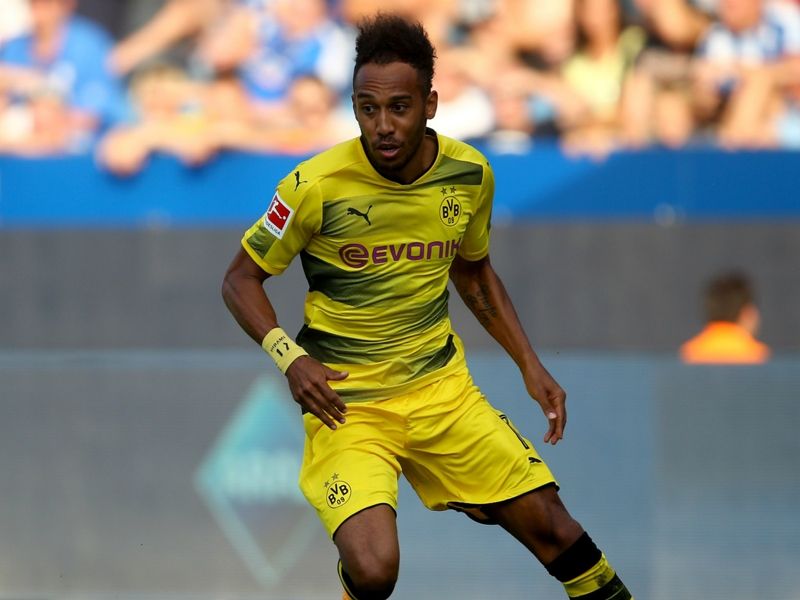 'Irreplaceable' Aubameyang makes up 20 per cent of Dortmund, says Hitzfeld