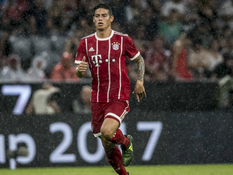 Bayern star James set for injury tests ahead of Borussia Dortmund clash