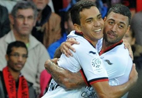 Ligue 1, 11ª - Il Nizza ne fa sette