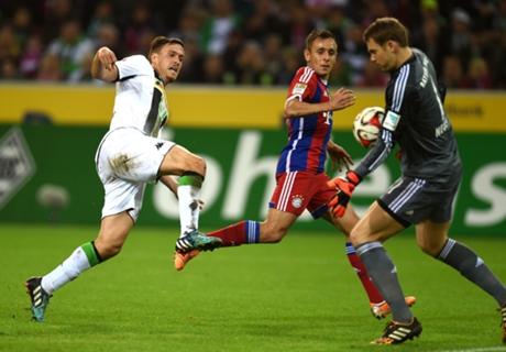 Gladbach 0-0 Bayern: Bayern held
