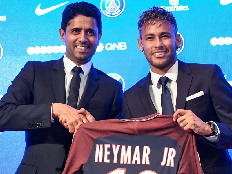 """PSG, Nasser Al-Khelaïfi sur Neymar et le Real Madrid : """"De la déstabilisation ? Peut-être"""""""