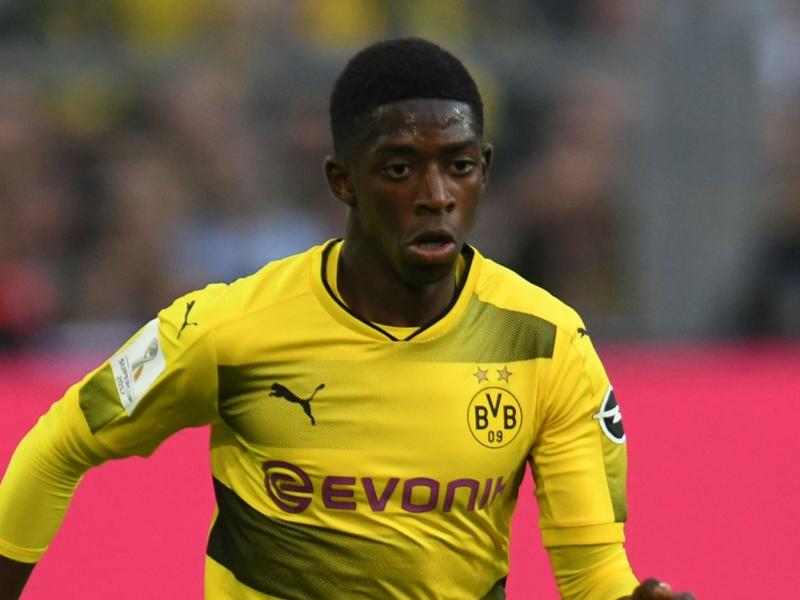 Alvo do Barcelona, Dembélé falta ao treino em Dortmund