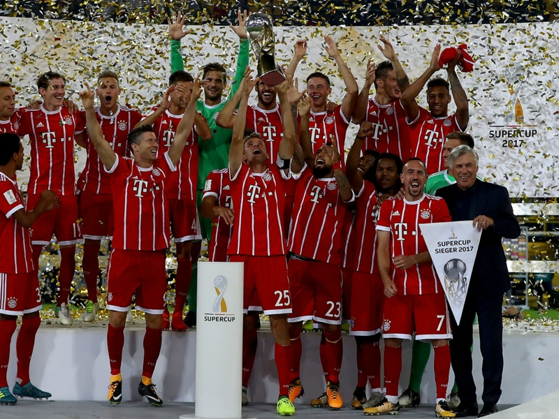 Bayern take penalty win in Supercup