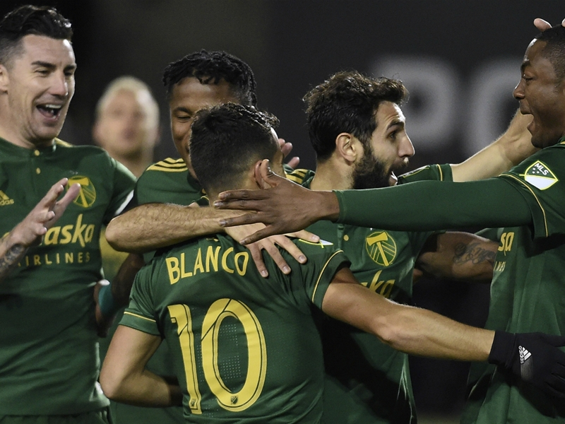 MLS Review: Timbers too good for Galaxy, Atlanta snatches last-gasp draw