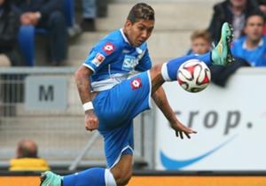 Steigerte seinen Marktwert durch starke Auftritte: Hoffenheims Roberto Firmino
