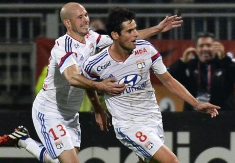 Bastia-Lyon, Gourcuff n'est pas sur la feuillle de match
