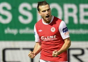 St Patrick's Athletic striker Christy Fagan was this season's joint top-scorer with 20 goals in 32 games