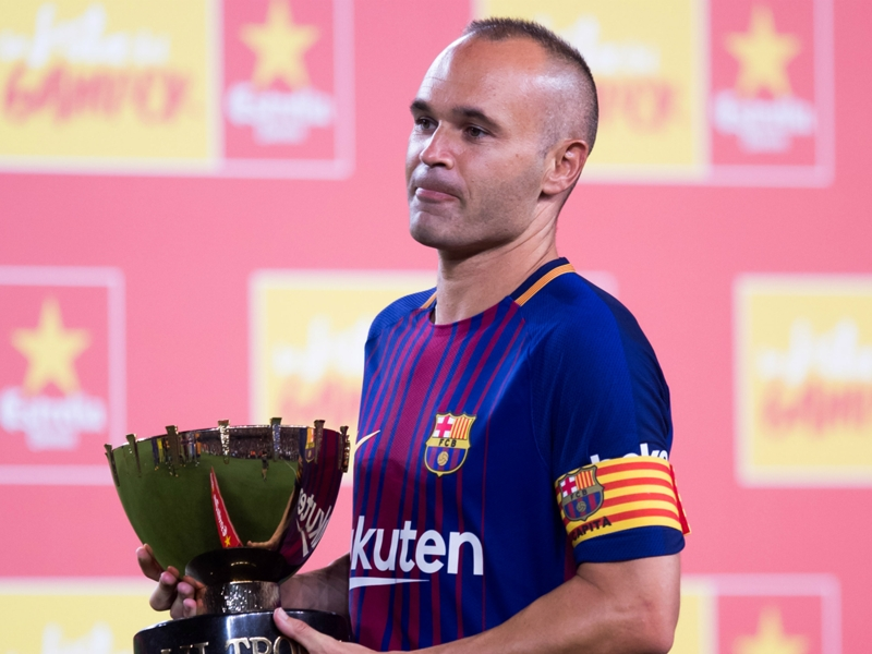 'He will sign new Barcelona deal' - Marotta rules out Juventus move for Iniesta