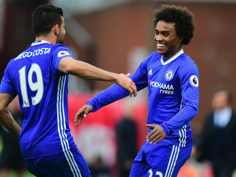 Morata can replace Diego Costa's Chelsea goals - Willian