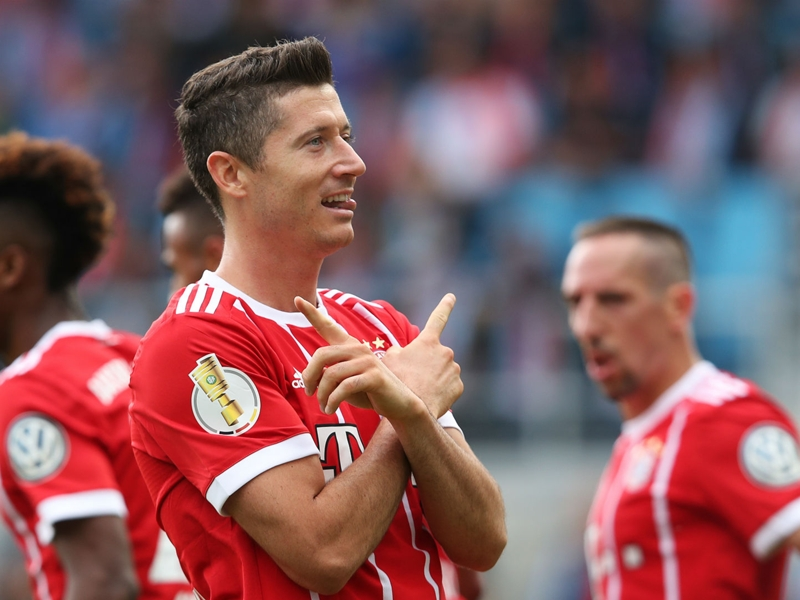 Chemnitzer 0 Bayern Munich 5: Lewandowski at the double as Ancelotti's men progress in style