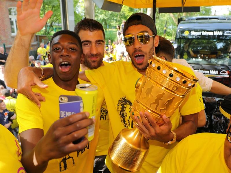 Dortmund's Dembele situation difficult, says Aubameyang
