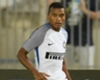 Dalbert makes his Inter debut. CREDIT: Twitter @inter_en