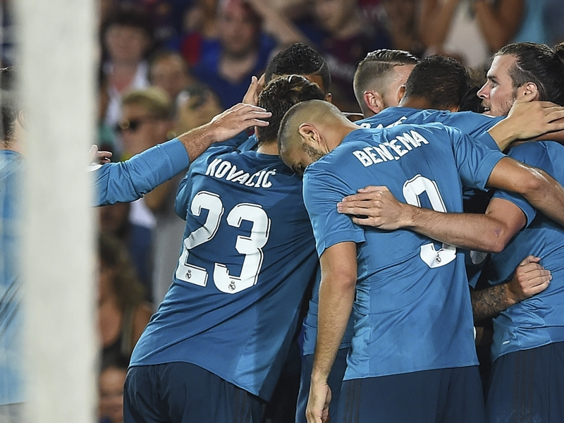 Ronaldo sees red as Madrid impress in Supercopa
