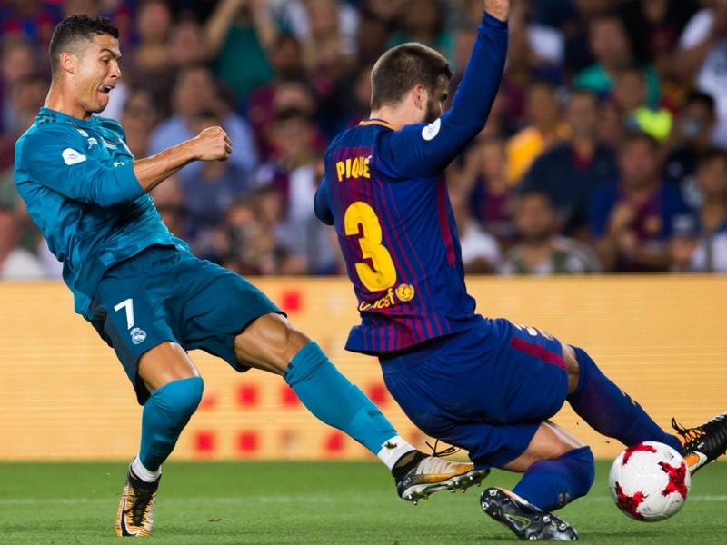 Barcelona 1 Real Madrid 3: Ronaldo hits wondergoal before seeing red in thrilling Supercopa clash