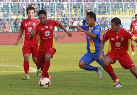 FT: Semen Padang 2-2 Arema