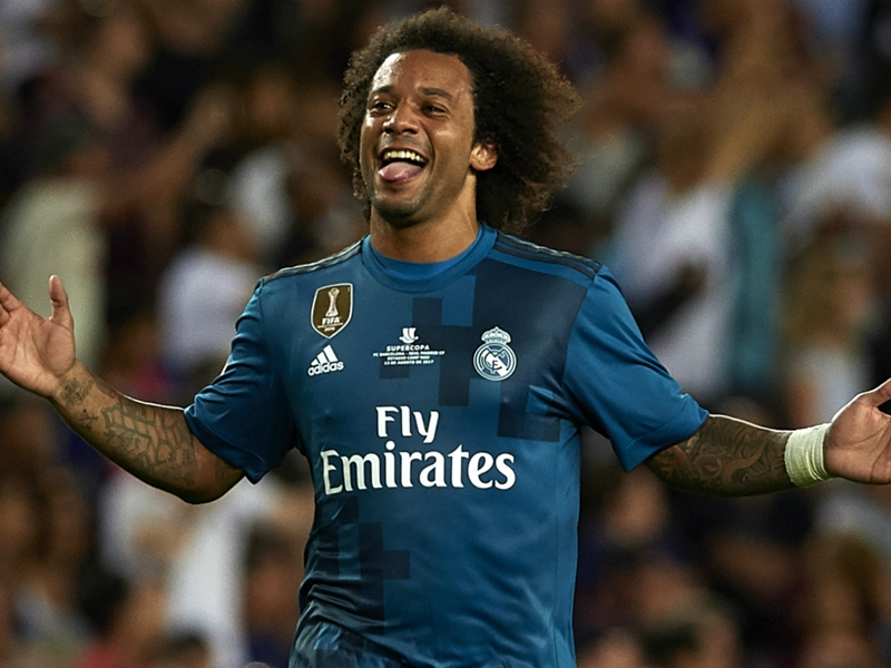 Marcelo signs new contract at Real Madrid until 2022