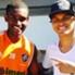Marlon assieme a Thiago Silva