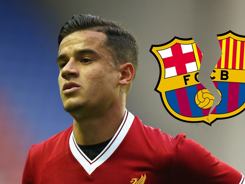 Barcelona target Coutinho will miss Crystal Palace tie through injury, confirms Klopp