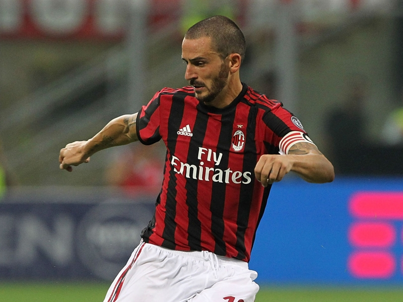 'It was a wonderful feeling' - Bonucci revels in San Siro bow as AC Milan destroy Shkendija
