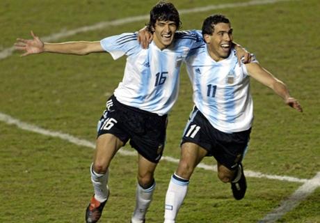 Los mejores 5 Tevez de Selección